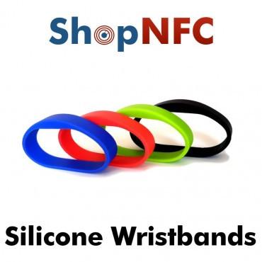 NFC Armbänder aus Silikon - Premium