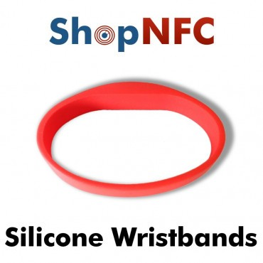 Pulsera NFC de silicona - Premium