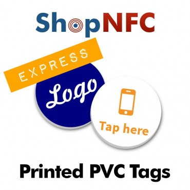 Custom Printed NFC Stickers in PVC