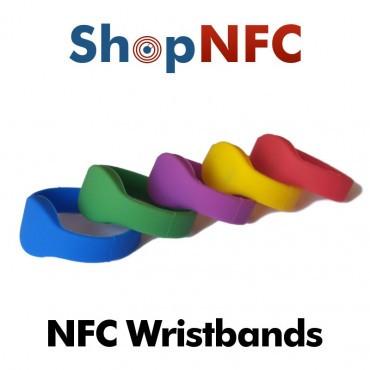 Bracelets NFC en silicone - Faible coût