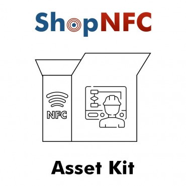 Kit of NFC Asset Tags