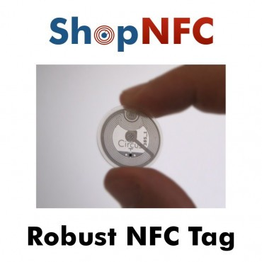 NFC Tags NTAG213 in hard PET 22mm