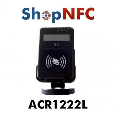 Escritor ACR1222L NFC con pantalla LCD