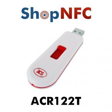 ACR122T Lecteur NFC format Clé USB
