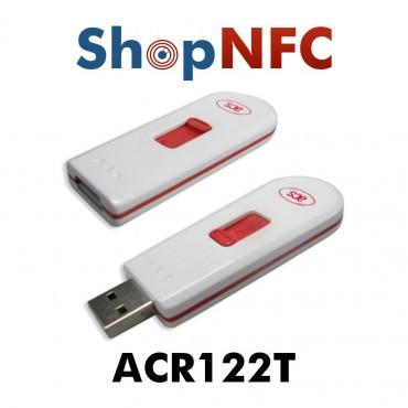 ACR122T - Lecteur/Encodeur NFC format Clé USB