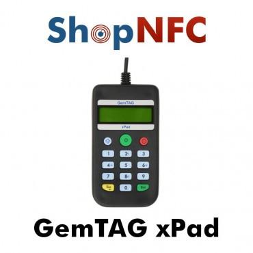 GemTAG xPad - Lecteur/Encodeur NFC avec clavier