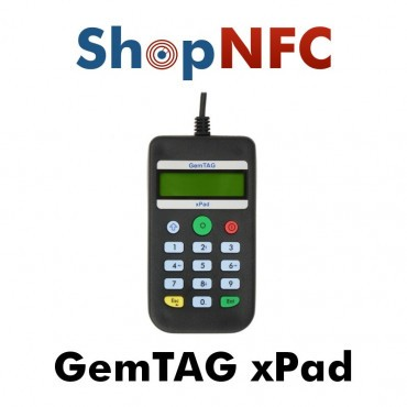 GemTAG xPad - NFC Reader/Writer with keypad