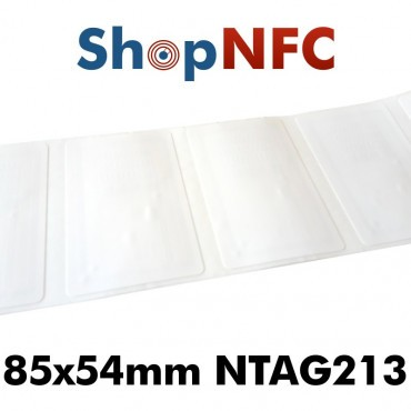 NFC Stickers NTAG213 card-size