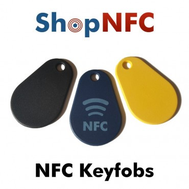 Waterproof NFC keyrings IP68