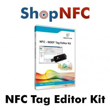 Kit pour la programmation des étiquettes NFC (Lecteur/Encodeur + Software)