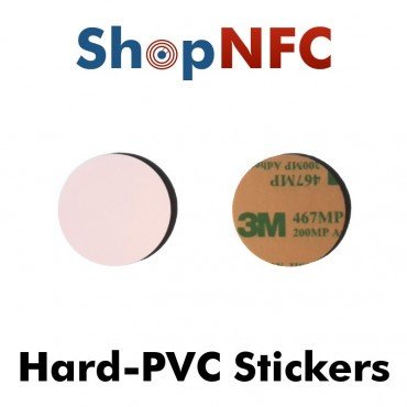 Hard PVC NFC Stickers