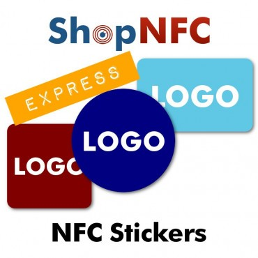 Custom Printed NFC Stickers - Express