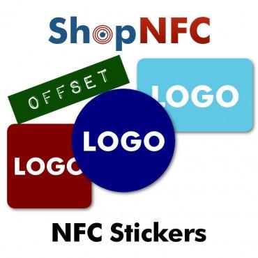 Etiquettes NFC personnalisées - Impression Offset