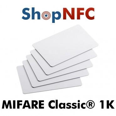 Cartes NFC en PVC NXP MIFARE Classic® 1k