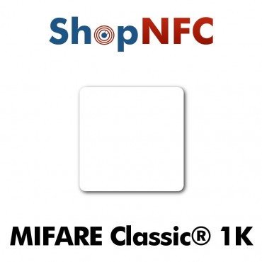 Tags NFC NXP MIFARE Classic® 1k 35x35mm adhésifs
