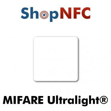Tags NFC NXP MIFARE Ultralight® 35x35mm adhésifs