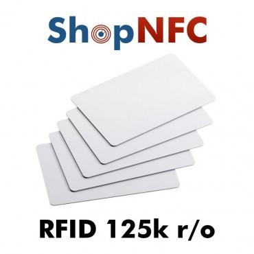 Cartes Rfid 125 kHz r/o
