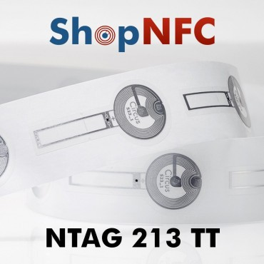 Tamper Loop NFC Stickers NTAG213 TT