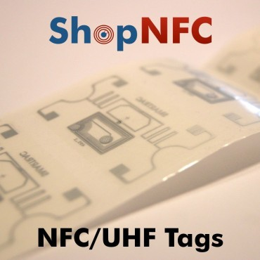Tag Dual Frequency NFC/UHF adesivi