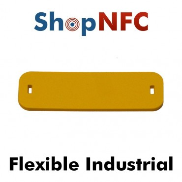 Tags NFC industriels IP68 ICODE® SLIX flexible