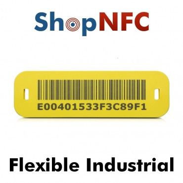 Etiqueta NFC industrial IP68 ICODE® SLIX flexible