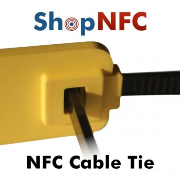 Abrazadera NFC de nylon con indicador ICODE® SLIX