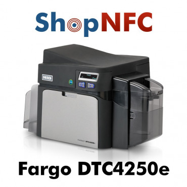 HID FARGO DTC4250e - Card Printer with NFC encoder