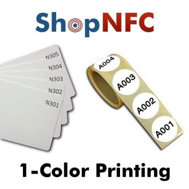 Impresión monocroma