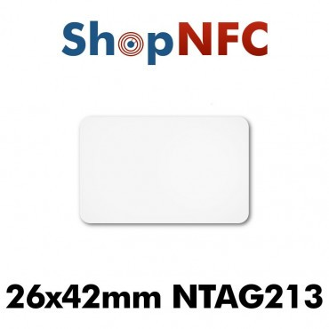 NFC Stickers NTAG213 26.5x42mm