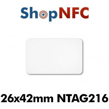 NFC Stickers NTAG216 26.5x42mm