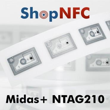 Tag NFC NTAG210 13,5x21mm adesivi