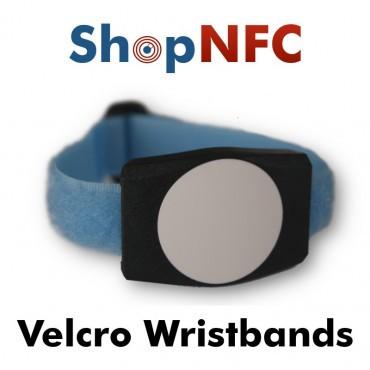 Pulsera NFC de velcro NTAG213
