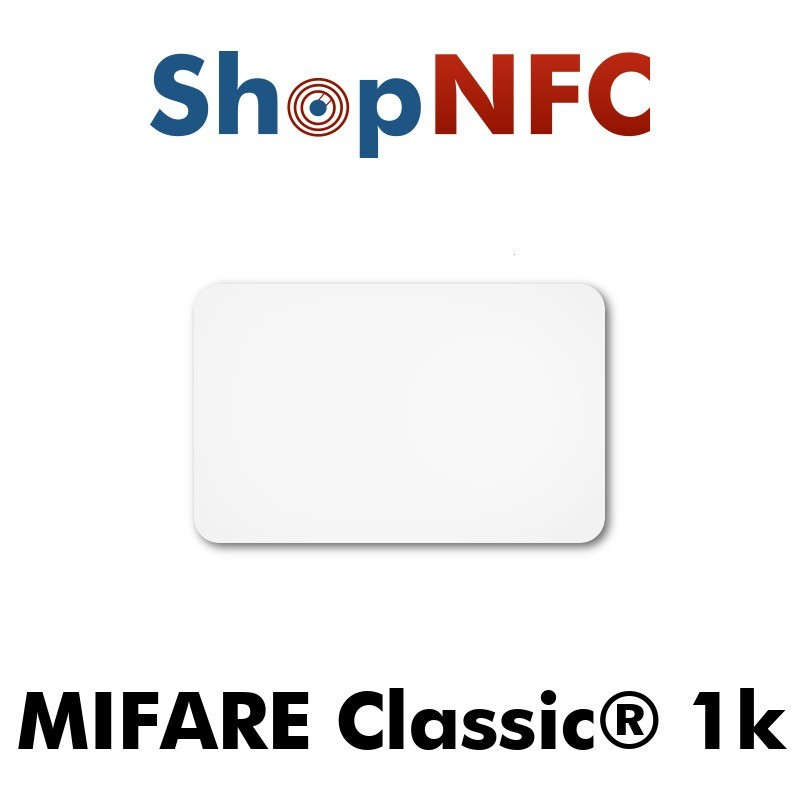 NFC Stickers NXP MIFARE Classic® 1k 26.5x42mm