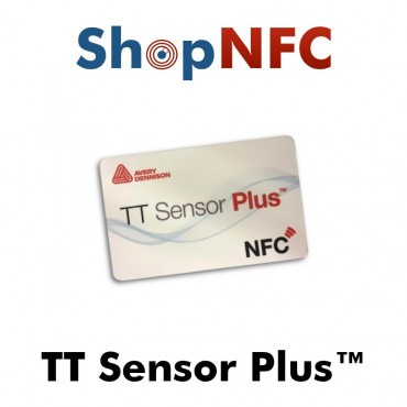 Temperature Sensor NFC Card