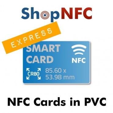 Tarjetas NFC personalizadas - Impresión Expresa