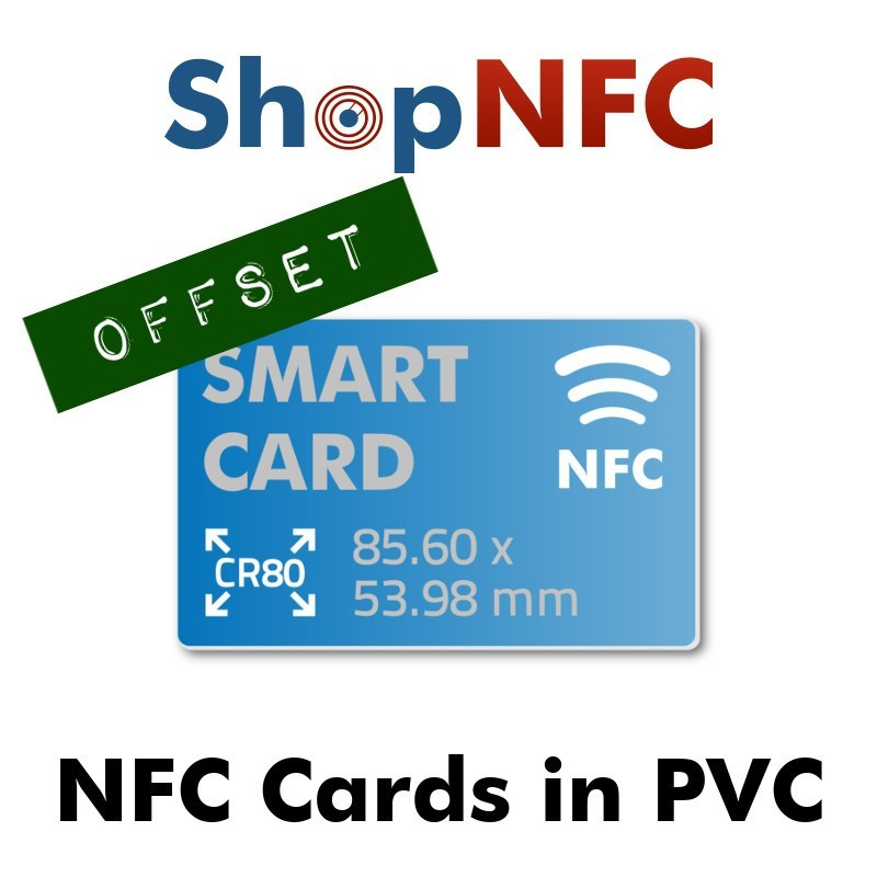 Custom Printed NFC Cards - Offset Printing