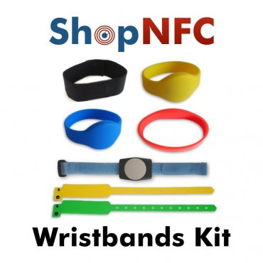 Kit of NFC Wristbands