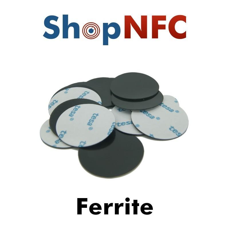 Klebeferrit für NFC On-Metal Tags - 29 mm