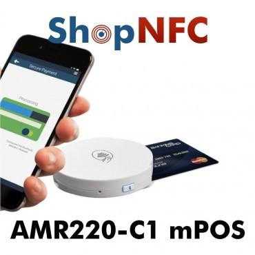 AMR220-C1 - mPOS Bluetooth® para pagos sin contacto