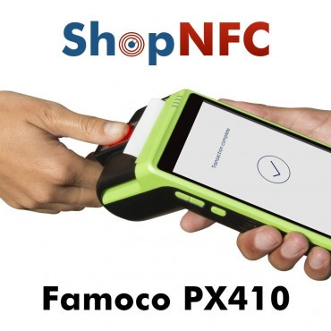 Famoco PX410 - Android mPOS with biometric reader