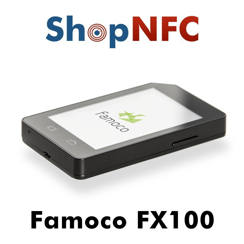 Famoco FX100 - Android NFC Reader - Shop NFC