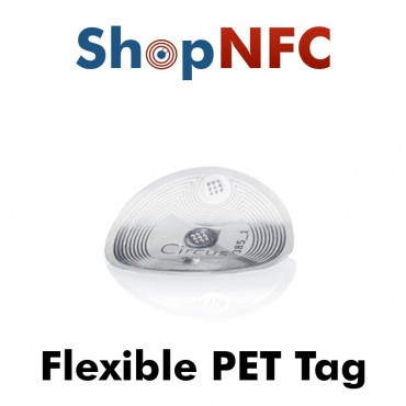 Tags NFC flexibles NTAG213 en PET 22mm