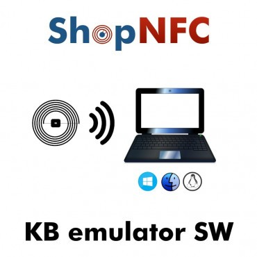 Software de emulación de teclado con NFC para Windows, Mac, Linux