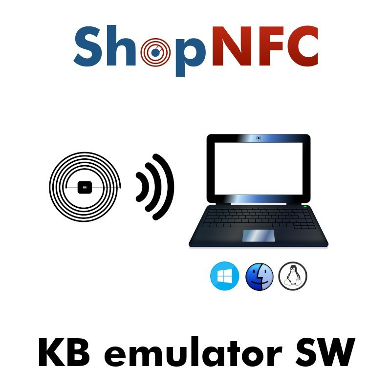 NFC Keyboard emulator software for Windows, Mac , Linux