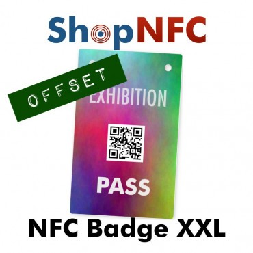 Badge NFC XXL - Impression Offset