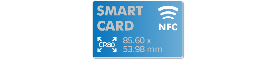 Custom Printed NFC Cards in PVC