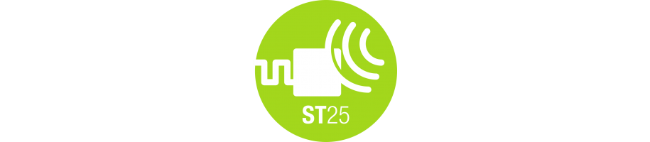 NFC Tags with ST25TA series chip by STMicroelectronics