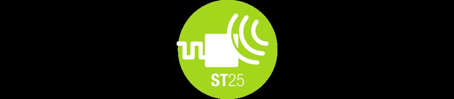 Tag NFC con chip della serie ST25TA di STMicroelectronics