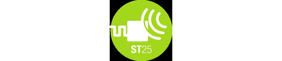 NFC Tags avec puce STMicroelectronics série ST25TA