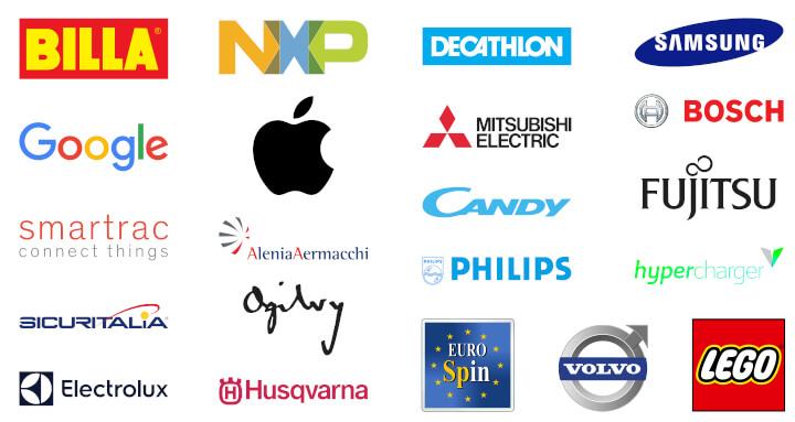 Aziende clienti di Shop NFC